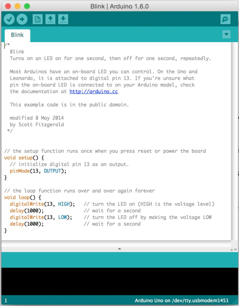 Arduino Blink Örneği